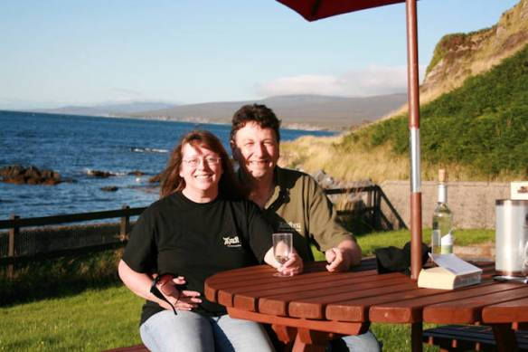 Mel and Gordon On Islay