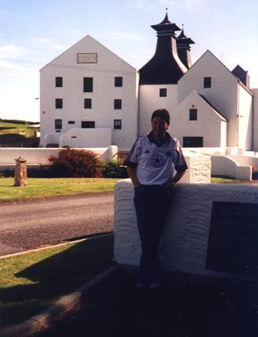 Me at Lagavulin