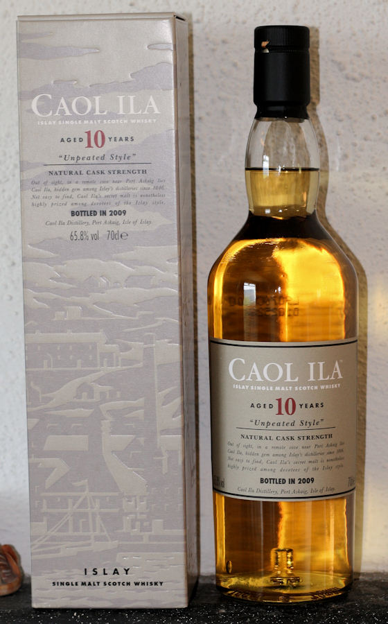10yo Caol ila Unpeated