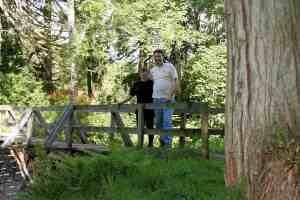 The Two of us at Bridgend Woods