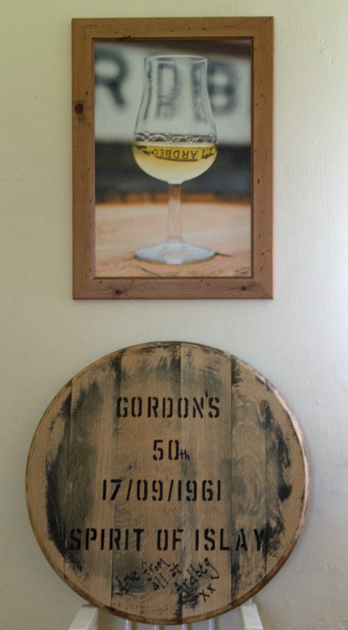 Ardbeg Picture and Cask End