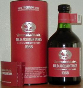 Bunnahabhain Auld Acquaintance