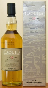 Caol Ila 10yo Unpeated
