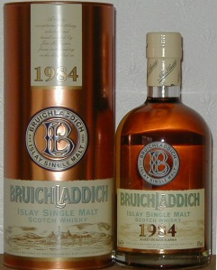 Bruichladdich 1984 Vintage