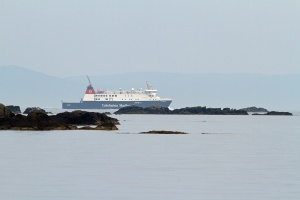Finlaggan heading to Port Ellen
