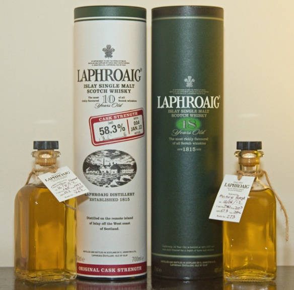 The Laphroaig Haul