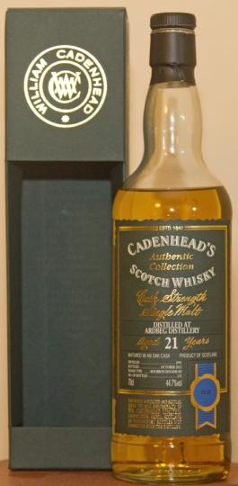 Cadenheads 21yo Ardbeg