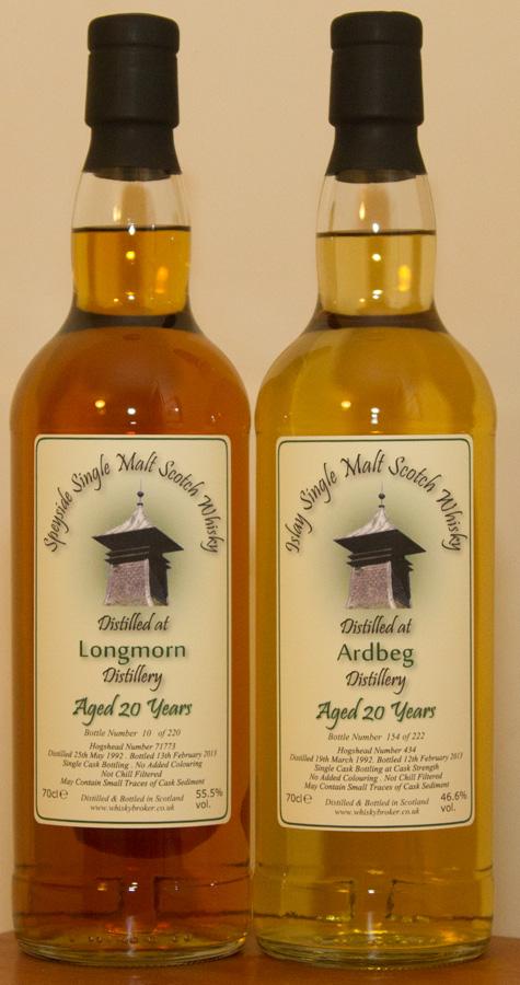 Ardbeg and Longmorn
