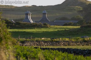 Ardbeg Pagodas in the evening Sunshine