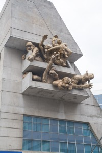 Sculpture at the Rogers Centre