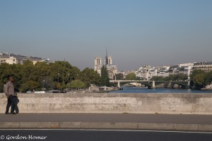Our first view of Notre Dame