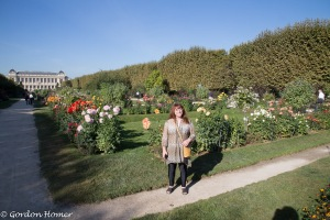 Melanie in the Jardin Des Plantes