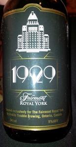 1929 Beer