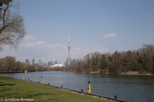 CN Tower from Centre Island 1