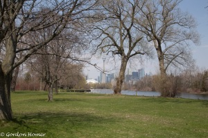 CN Tower from Centre Island 2