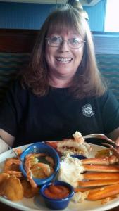 Melanie at Red Lobster