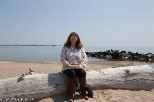 Melanie on the Beach 2