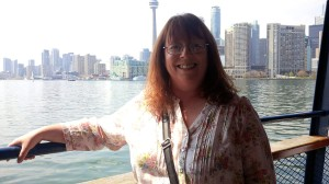 Melanie on the Ferry