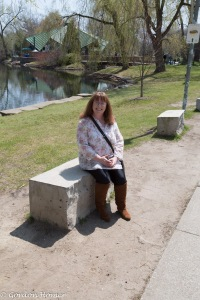 Melanie on Toronto Islands