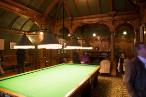 The Pretty impressive snooker room