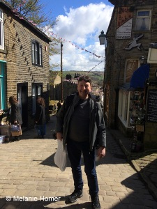 Myself in Haworth